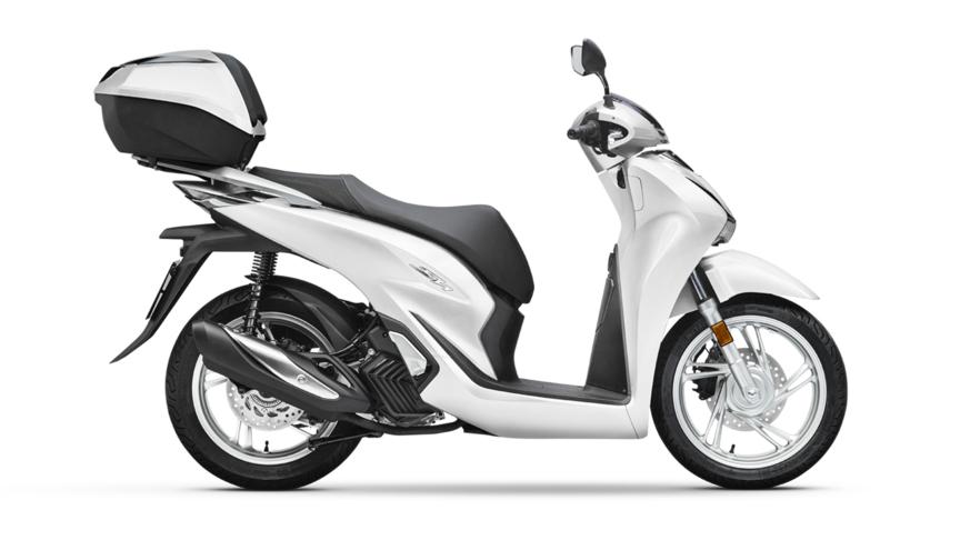 Honda SH 125i Bianco 3740 euro