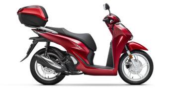 Honda SH 125i Rosso 3740 euro