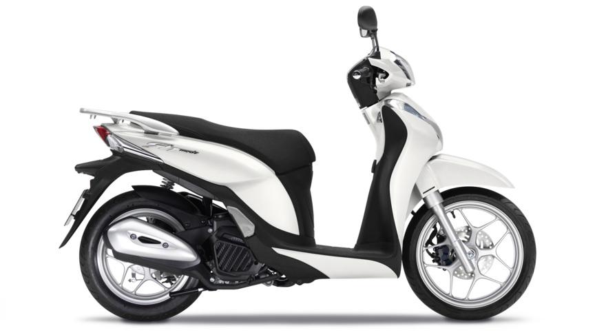 Honda SH Mode 125 Bianco 2790 euro